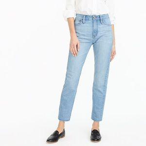 J. Crew point sur retro high rise denim jeans